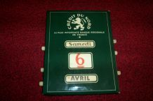calendrier perpetuel ancien pub banque