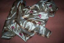 FOULARD PIERRE CARDIN 90x90 & 100%polyester