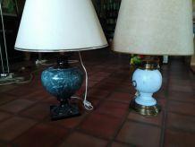 2 lampes à poser