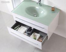 vasque salle de bains en verre