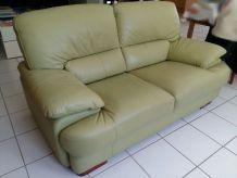 Canapé vintage- Neo retro- tout cuir