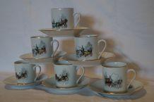 Lot de 6 tasses à café