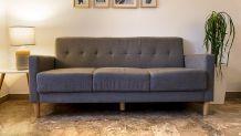 Canapé design gris