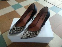 Chaussures à talons rétro