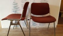 Lot de 4 chaises Design Giancarlo Piretti