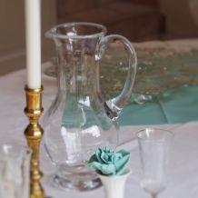 Pichet, carafe en verre