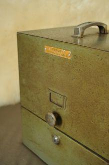 Casier trieur métal FIDUS, années 60's