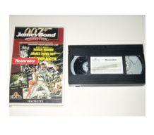 CASSETTE VHS JAMES BOND moonraker