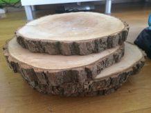 Lot de 14 rondins en bois