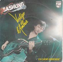 Vinyle BASHUNG - Vertige de l' Amour - 45 t