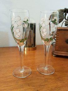 Lot de 2 flûtes à Champagne Perrier-Jouet
