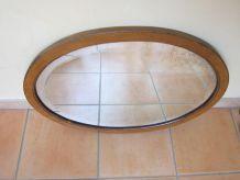 miroir ovale année 40