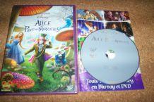 DVD ALICE AU PAYS DES MERVEILLES johnny depp walt disney