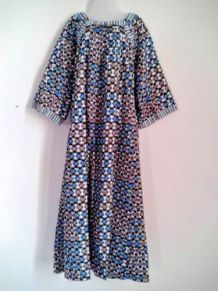 Robe bohème coton /Taille M/Inde