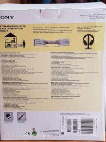 Sony MDR-RF865RK Casque TV sans fil UHF - Noir