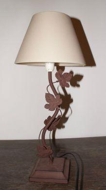 lampe fer forgé