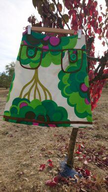Jupe trapèze colorée