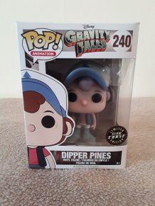 Funko Pop DIPPER PINES 240 - Glow Chase - GRAVITY FALLS DISNEY