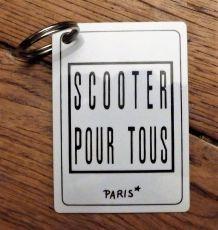 "Porte Clés Adresse ""Scooter Pour Tous"" - Neuf - Scooter"