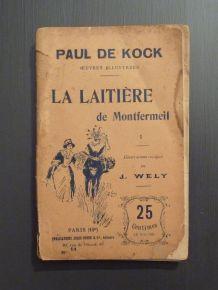 La Laitière De Montfermeil- Paul De Kock-Tome I -n°14