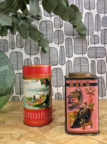 Boites à thé vintage