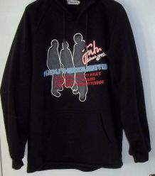 Sweat Shirt à capuche  Noir