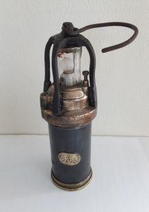 Lampe de mineur Lemaire