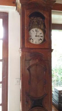 Horloge comtoise ancienne caisse XVIIIe