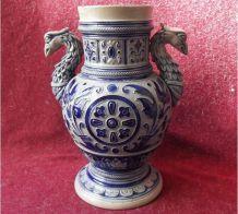 Potiche/Vase en grès allemand