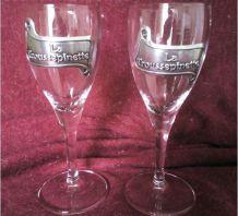 Deux verres Trouspinette