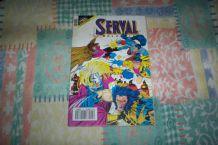BD SERVAL no 25 VOLVERINE DE 1992 marvel