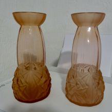 paire de vases art deco