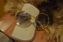 Lunette de soleil style Chanel année 70