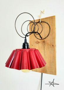 """Lampe """"Applique à Gâteau"""""""