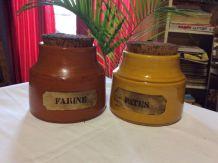 Pot à épices année 70