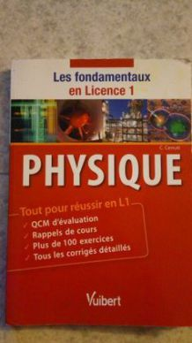 Manuel Physique licence 1