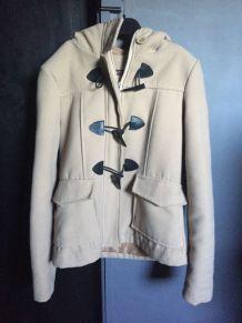 Manteau taille S écru comme neuf