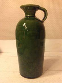 Vase vintage en céramique terre cuite années 1960/1970