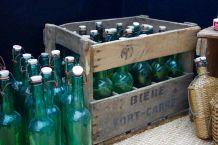 Caisse à bouteille ancienne bière Fort Carré