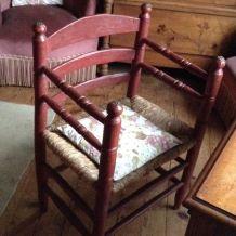 table de travail 1900 et son fauteuil