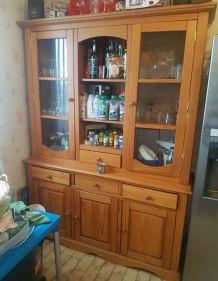 meuble de cuisine en pin
