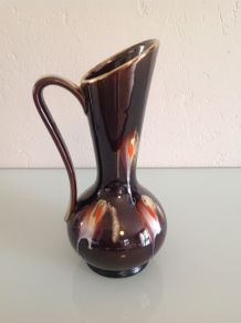 Vase vintage verseuse avec anse