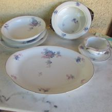 Service de table , porcelaine de Limoges
