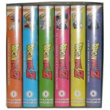 Coffret cassettes VHS Dragon Ball Z, Volumes 1 à 6