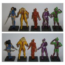 32 figurines Marvel Eaglemoss, avec fascicule en Français