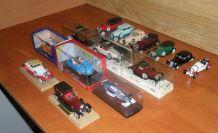 Lot de 15 voitures de collection en modèle réduit