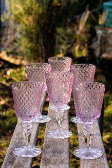 6 Verres en cristal Villeroy & Boch