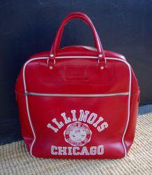 Sac bowling Chicago années 80