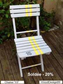 Chaise pliante n°15