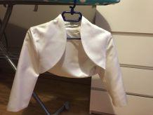veste de mariée blanche